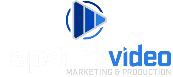 Capstone Video Marketing logo vertical
